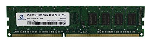 Adamanta 8GB (1x8GB) Desktop Memory Upgrade DDR3/DDR3L 1600MHz PC3-12800 Unbuffered Non-ECC UDIMM 2Rx8 CL11 DRAM RAM