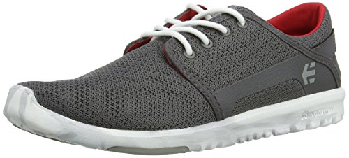 Etnies Scout, Chaussures de Skateboard Homme Gris (Grey/White/Red 372)