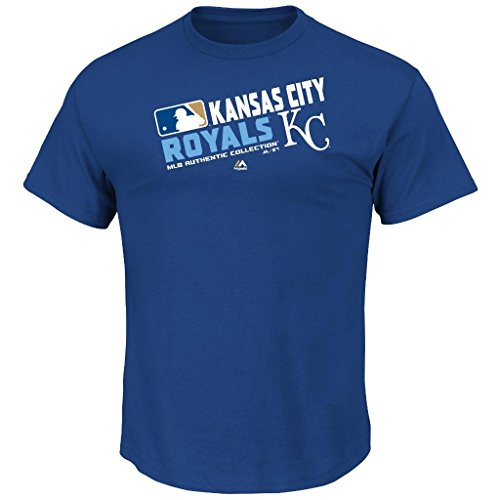 Youth MLB Authentic Collection Team Choice T-Shirt (Youth Large 14/16, Kansas City (Game Official Mlb Baseball Jersey)