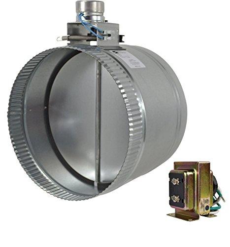 "ZC210 10"" normally closed adjustable damper - Diameter Motorized Damper"