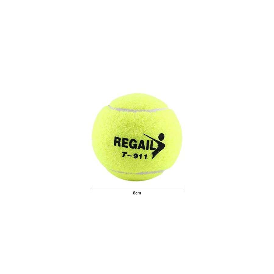 VGEBY Tennis Trainer,High Elasticity Rubber Ball and Rope Training Tennis Professional Training Accessory