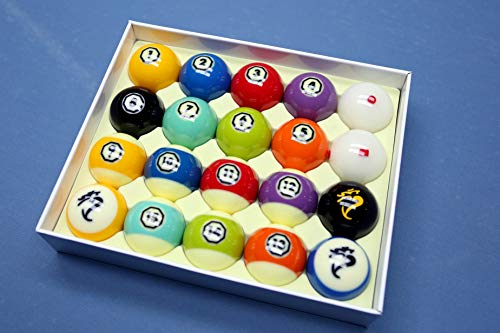 Diamond Billiards Cyclop Pool Balls (Hyperion Television)