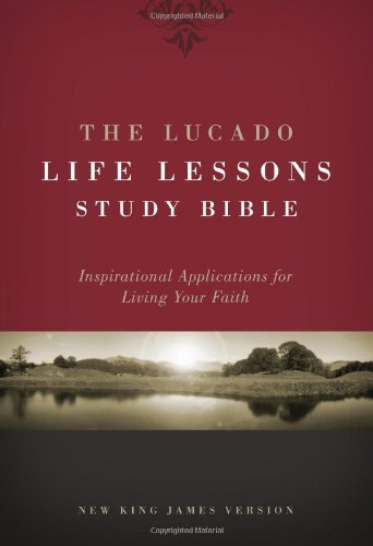 Lucado Life Lessons Study Bible product image