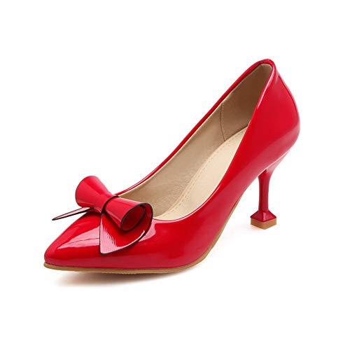 35 EU APL10605 Sandali BalaMasa Red con Zeppa Donna Rosso AR86q0Ox