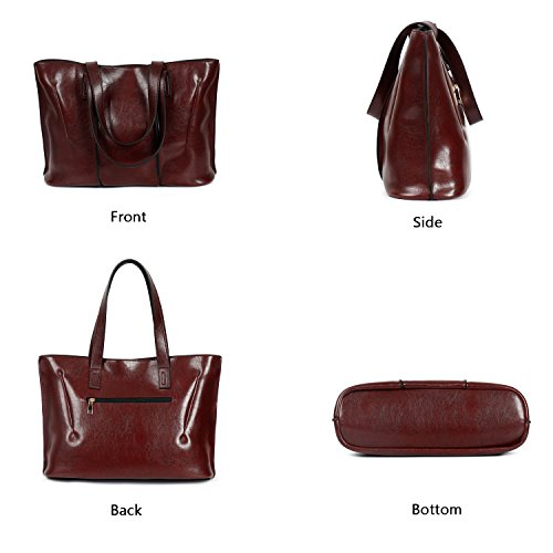 Handle Bag a PU Handbags Coffee Top Shoulder Designer Bag Ephraim Ladies for Casual Tote Women Bag qvxwZfX