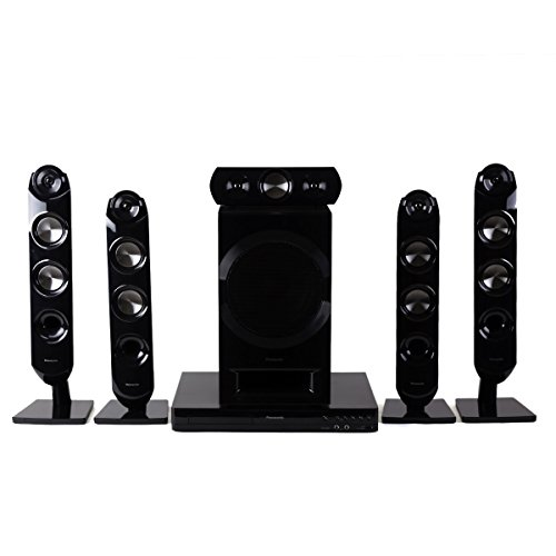 Panasonic SC-XH333 Bluetooth Multi Region Free 5.1-Channel Home Theater Speaker System w/ Free HDMI Cable, 110-240 Volt