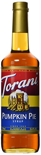 Torani Pumpkin PIE Syrup, 750 mL