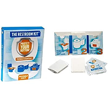 Amazon Com The Restroom Kit Great For Travel 30 Pack
