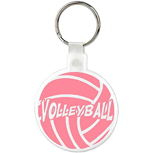 Amazon.com: Neón Voleibol Llavero, normal, Blanco/Rosado ...