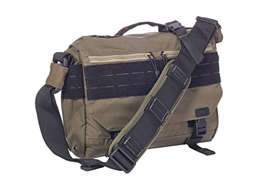 5.11 Tactical Rush Delivery Mike Messenger Bag, OD Trail, One Size (Delivery Rush)