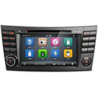 MCWAUTO For Mercedes-Benz W211 7 Inch 2 Din Capacitive Touch Screen Car Stereo DVD Player In Dash GPS Navigation Bluetooth SWC Unit