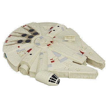 Star Wars: The Force Awakens Millennium Falcon Spaceship (9.5 x 7 Inches) (Toy Star Wars Ship)