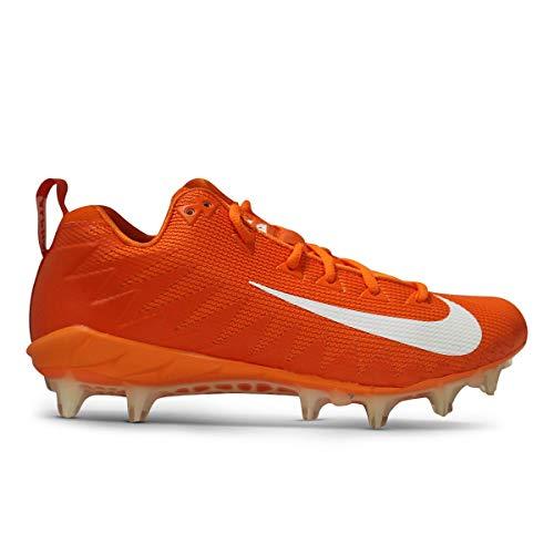 - Nike Alpha Menace Pro Low TD Promo Football Cleats (9.5 D(M) US, Orange/White)