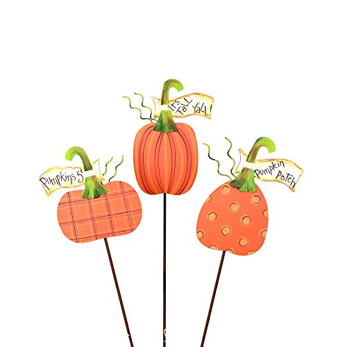 The Round Top Collection Whimsical Banner Pumpkins -