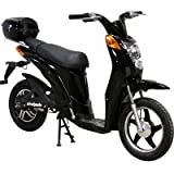 EW-500 Electric Moped-Black
