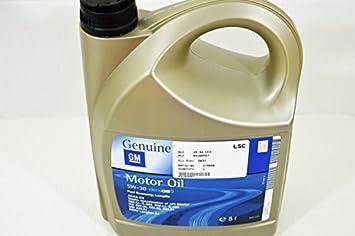 Garrafa de aceite para motor LSC 93165557, Dexos 2, 5 W, 30, 5 litros, totalmente sintético: Amazon.es: Coche y moto