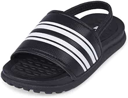 The Children's Place Kids' TB Slide Flat Sandal