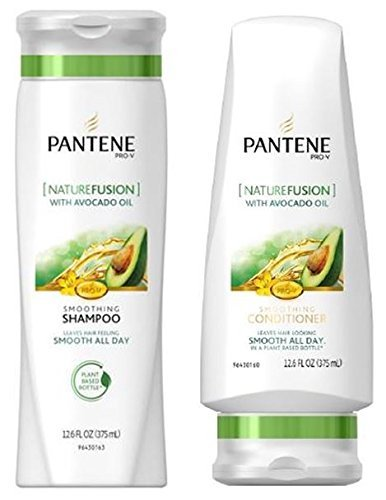 - Pantene Pro-V Shampoo & Conditioner Set, Nature Fusion with Avocado Oil, 12 Ounce Each