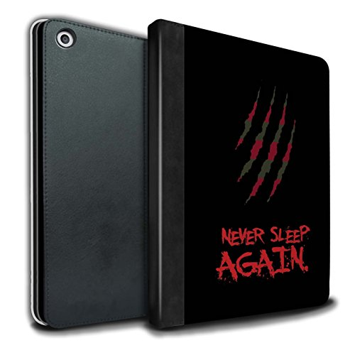 STUFF4 PU Leather Book/Cover Case for Apple iPad 9.7 (2017) Tablets/Freddy Krueger Inspired Art Design/Horror Movie Art Collection]()