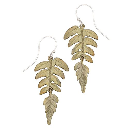 ''Fern'' Earrings By Michael Michaud for Silver Seasons… by Michael Michaud