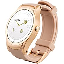 Wear24 Android Wear 2.0 42mm 4G LTE WiFi+Bluetooth Smartwatch (Rose Gold) (Certified Refurbished)