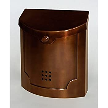 Amazon Com Wall Mounted Mailbox Finish Antique Copper