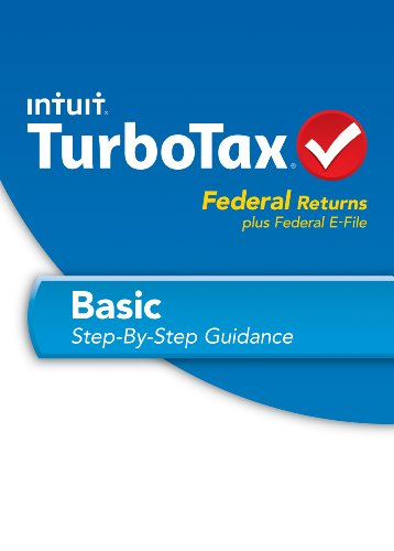 TurboTax Basic Fed + Efile 2013 OLD VERSION by Intuit