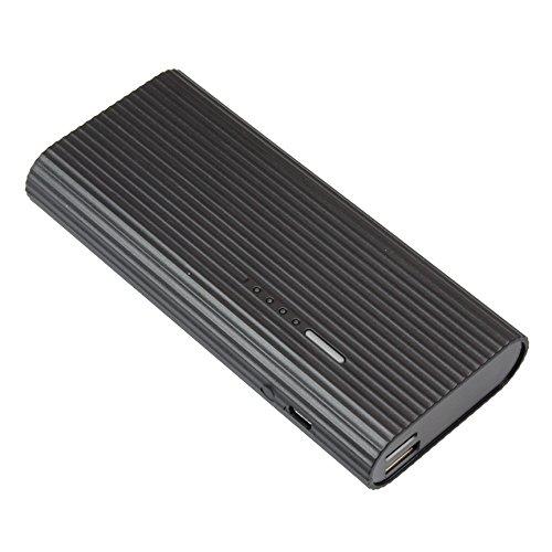 匠ブランド (TAR6U) モバイル充電器型ビデオカメラ Giga-Voltage (ギガボルテージ) 1080p FullHD ブラック NCB03940233-A0