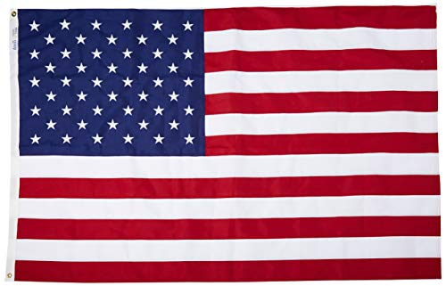 Cheap Annin Flagmakers Tough-Tex Woven Traditional US Flag Size: 4′ x 6′