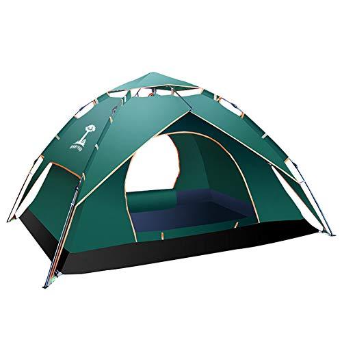 幸運奨学金フォームテント屋外、2-3-4人の自動2ベッドルーム1ベッドルーム二重層厚い防水テント、野生のビーチハイキングテントNayang Store