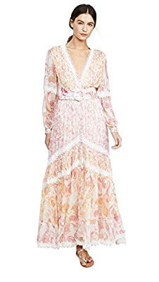 ROCOCO SAND Women's V Neck Long Dress