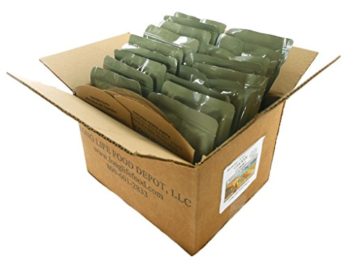 Long Life Food Depot MRE Chicken Entrees Combo - 18 Pack ()