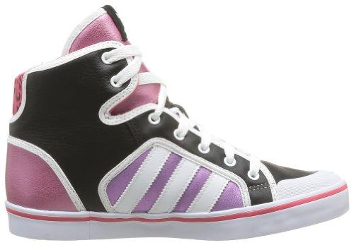 adidas , Damen Sneaker Noir (Black/White/Pink S13)