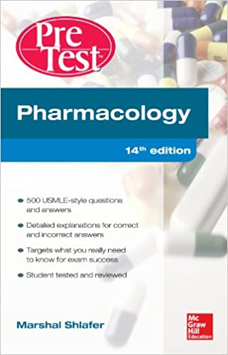 Pharmacology pretest self assessment and review 14e kindle pharmacology pretest self assessment and review 14e kindle edition by marshal shlafer professional technical kindle ebooks amazon fandeluxe Choice Image
