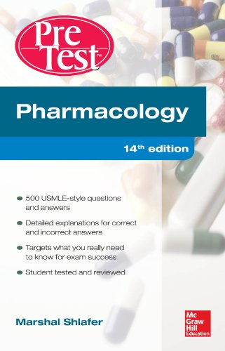 Pharmacology PreTest Self-Assessment and Review 14/E Pdf