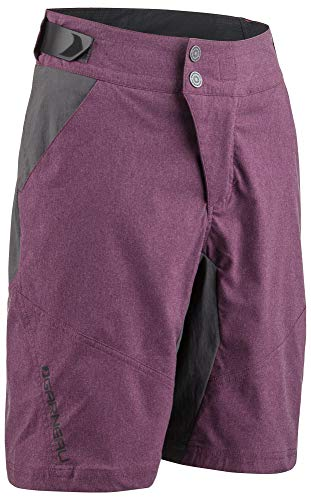 - Louis Garneau Kids Dirt Bike Shorts, Shiraz, Small