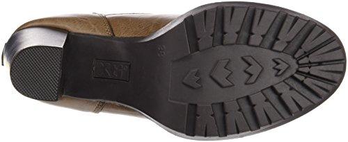 Xti Botin Sra C. 46035, Zapatos De Tacón, Mujer Beige (Taupe)