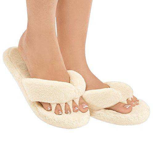 Alignment 2 7 7 Toe Cream S 1 Slippers Therapeutic Ladies 1 Cream pair 58XUpqwXx