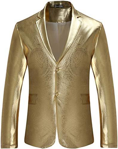 Lunga gold Jza139 Manica Blazer Jeansian Uomo xSEAA6