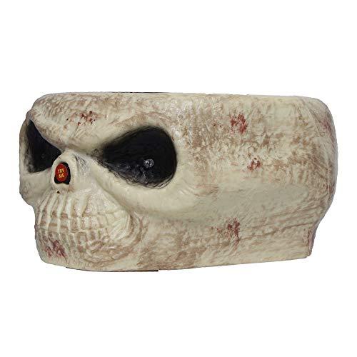 Transer Fruit Bowl, Halloween Decorations Nut Bowls Dish Basket with Jumping Skull Hand Halloween Decor Supplie (Beige) by Transer- (Image #5)