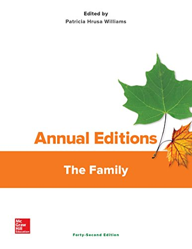 Annual Editions: The Family, 42/e