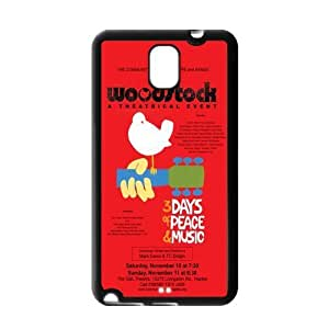 Made for galaxy note 3 Case Funny Woodstock Poster by supermalls