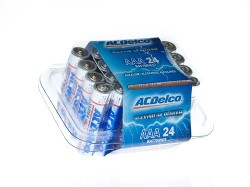 ACDelco C Batteries, Super Alkaline Battery, 8 Count Pack