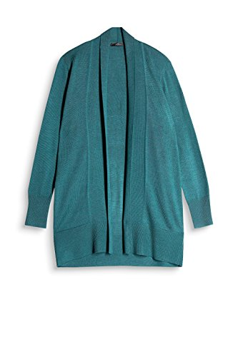 Teal Vert Gilet ESPRIT 379 5 Dark Green Femme Collection Oww7qxtX