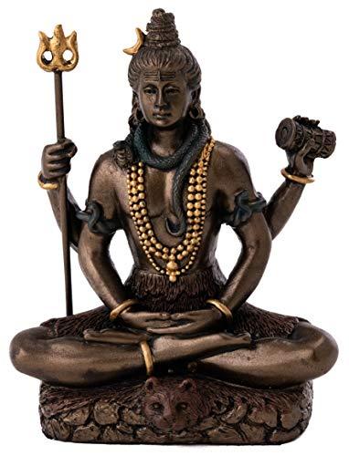 Top Collection Mini Lord Shiva Statue in Lotus Pose