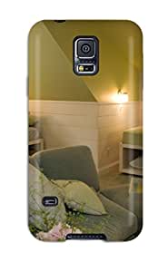 New Arrival Case Cover With Design For Galaxy S5- Kids8217 Room With Cottage Feel And Gray Sofa With Matching Ottoman 6913697K23925829