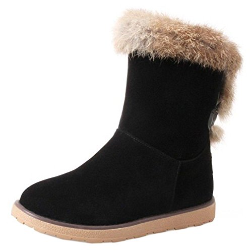 Pull Boots On Women KemeKiss Black FXqRpWw