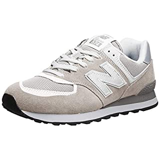 New Balance Men's 574 V2 Evergreen Sneaker, Nimbus Cloud, 18 W US
