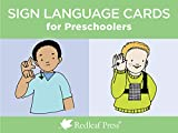 img - for Sign Language Cards for Preschoolers book / textbook / text book