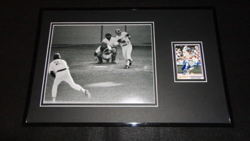 Bucky Dent Framed - Bucky Dent Signed Framed 11x17 Photo Display Yankees HR